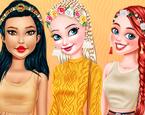 Kızların Kış Saçları