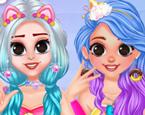 Kızların Renkli Modası
