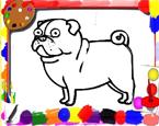 Köpek Boyama