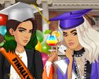 Kız Kardeşlerin Lise Mezuniyeti