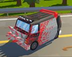 Minibüs İle Zombi Ezmece