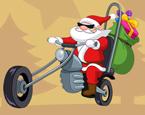 Motorlu Noel Baba Boyama
