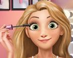 Rapunzel Makyaj Yapma ve Giydirme