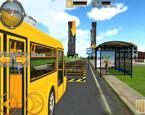 Okul Otobüsü Simülatörü