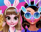 Eğlenceli Kızlar Paskalya Kutluyor