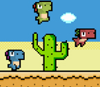 Piksel Dino Koşusu