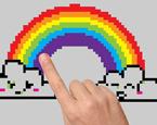 Pixel Gökkuşağı Boyama