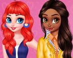 Prensesler Yeni Arkadaşlarla Tanışma