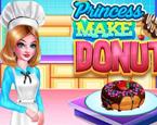 Prenses Donut Yapıyor