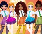 Prensesler Okul Stili