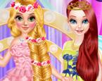 Prenseslerin Uzun Saç Modası