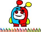 Robot Boyama Oyunu Oyna Oyun Skor