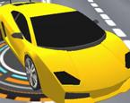 Sarı Spor Araba Sürme