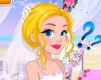 Sarışın Prensese Gelinlik Giydir