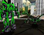 Şehirdeki Dev Örümcek