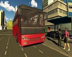 Şehirde Belediye Otobüsü Sürme