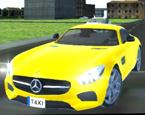 Şehirde Sarı Taksi Sürme