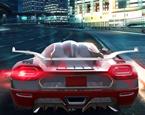 Şehirde Spor Araba Sürme