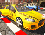 Şehirde Taksi Sürme Simülatörü