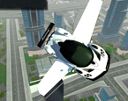 Şehirde Uçan Araba Sürme