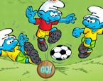 Şirinler Futbol Maçı Yap