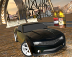 Siyah Drift Arabası