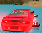 Suda Yüzen Araba 3D