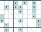 Günlük Çapraz Sudoku