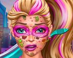 Süper Barbie Yüz Tedavisi
