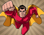 Süperman Boyama