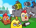 Tavuk Saldırısı Kale Savunma