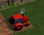 Traktörle Tarla Sürme