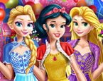 Üç Prenses Doğum Gününde