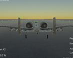 Gerçek Uçuş Simülatörü Savaş Uçağı