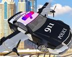 Uçan Polis Arabası Sürme
