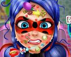 Uğur Böceği Kızı Yüz Bakımı