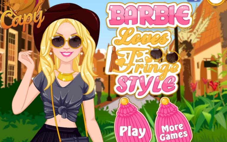 Barbie'nin Püsküllü Modası