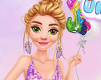 Unicorn Güzelleri Ariel ve Rapunzel