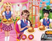 Barbie'nin Hamburger Keyfi