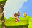 Maymunla Altın Toplama