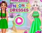 Prensesler Neon Elbise